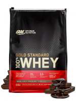 Протеин Optimum nutrition 100% Whey Gold Standard, двойной шоколад, 4540 г