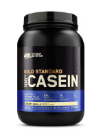 Протеин Optimum Nutrition 100% Casein Protein, ваниль, 909 г