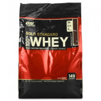 Протеин Optimum nutrition 100% Whey Gold Standard, молочный шоколад, 4540 г