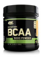 BCAA Optimum nutrition BCAA 5000 Powder, апельсин, 380 г