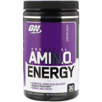 Аминокислоты Optimum Nutrition Amino Energy, виноград Конкорд, 270 г