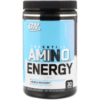 Аминокислоты Optimum Nutrition Amino Energy, сладкая вата, 270 г